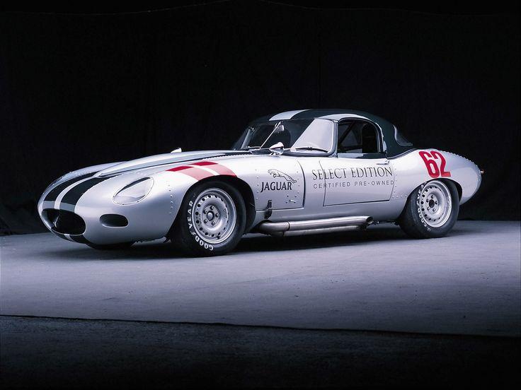 Jaguar Select Edition Racing - 1962 Jaguar E-Type Roadster