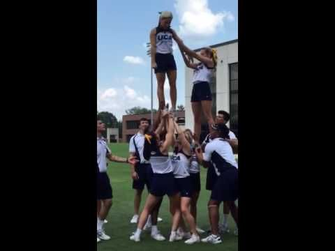 UCA stunt training 5 - YouTube