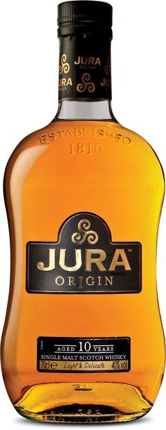 Isle of Jura single malt whiskies available from Whisky Please.