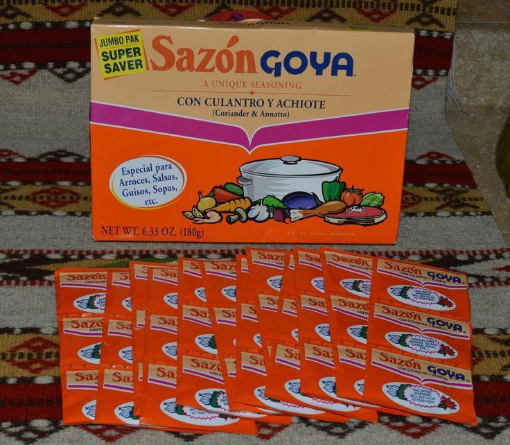 Sazon Goya Con Culantro & Achiote Jumbo (36 Packs