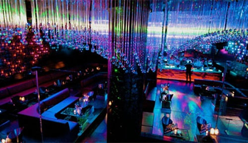 Eco friendly night club interior