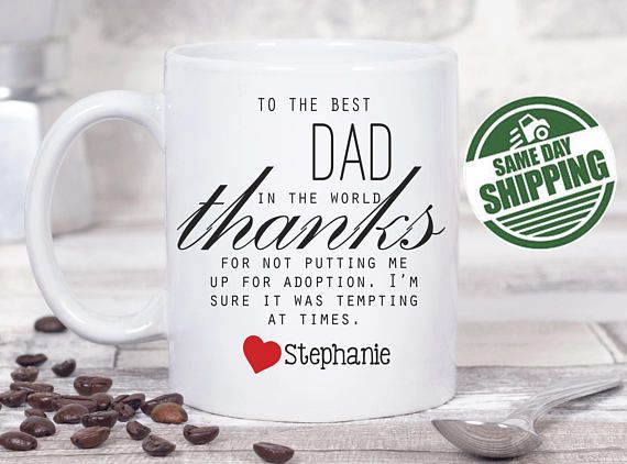 Dad Mug From Kids Birthday Gift Gifts