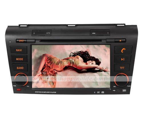 Android Car DVD Player GPS Navigation Wifi 3G for Mazda 3 Model: HSL-CP-08G Price: $455.10