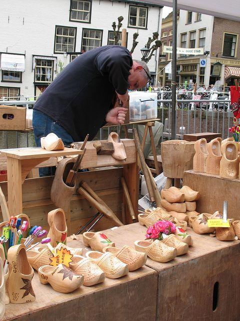 Wooden Shoe Making, Alkmaar, Netherlands