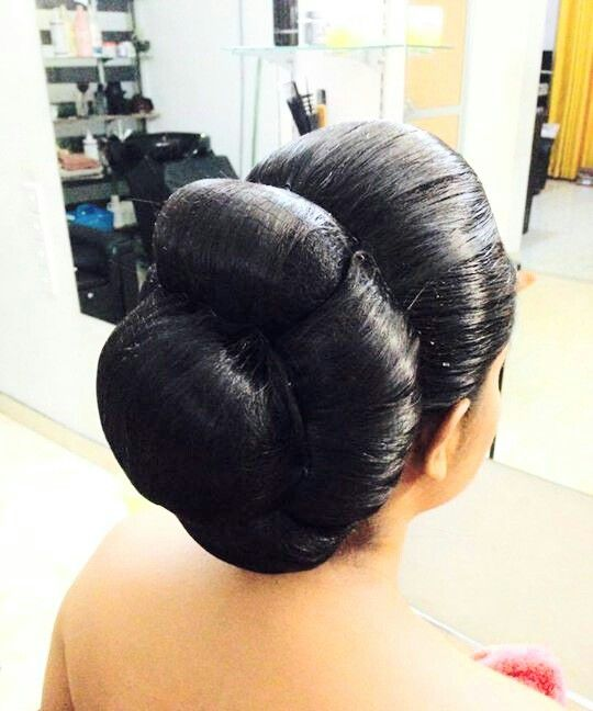 1000+ Images About Indian Low Bun Hair Styles On Pinterest