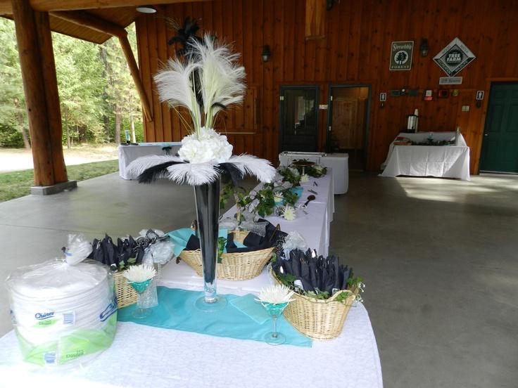 Banquet table decoration