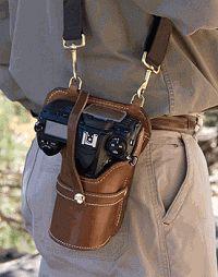 Nikon D90 Blog - D90 Everything!: Nikon D90 Leather Camera Holster!