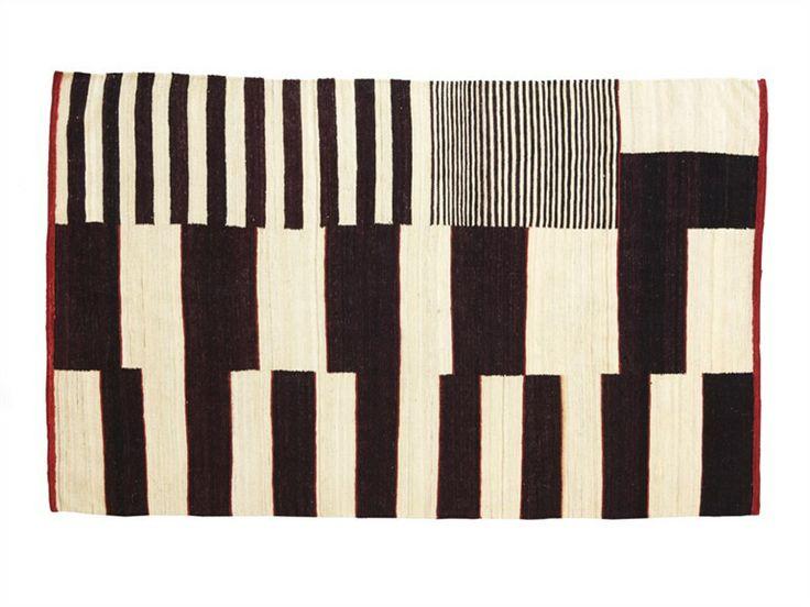 Alfombra de Nani Marquina.  Barcelona..: Fashion Rugs, Black And White, Wool Rugs, Cozy Interiors, Medina Rugs, Nani Marquina, Nanimarquina Medina, Modern Rugs, Modern Design