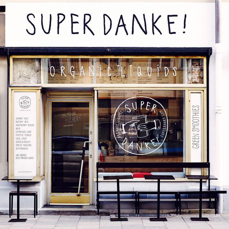 SUPER DANKE Organic Liquids // Smoothies aus saisonalen, lokalen und biologischen Rohstoffen / 100% Vegan