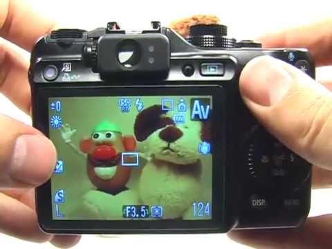 Canon G10: Portrait tutorial