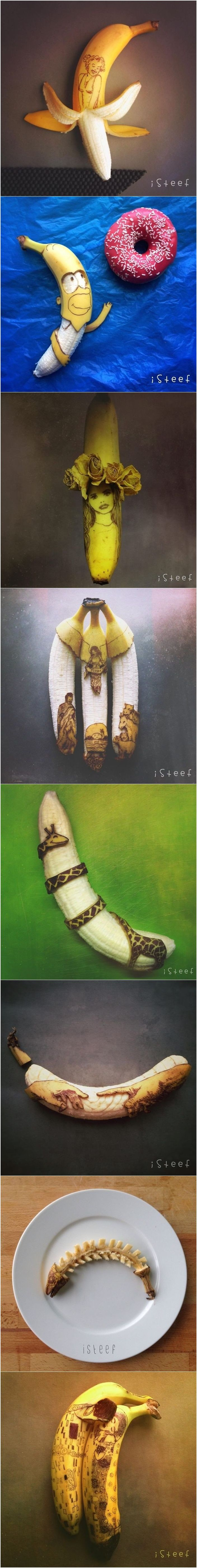 Banana Art By Stephan Brusche