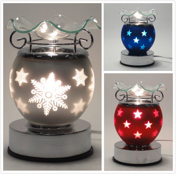Electric Touch Lamp Fragrance Oil And Tart Wax Warmer Burner Aroma Christmas Touch Lamp Wax Warmer Wax Warmers