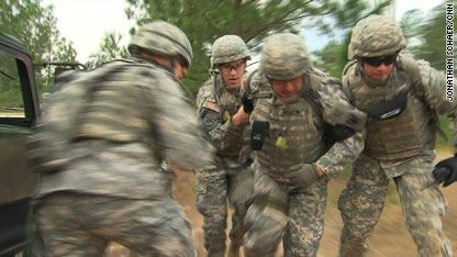 U.S. Army chaplain candidates train at Fort Jackson in South Carolina.