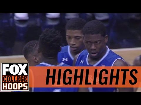 Seton Hall Pirates defeat DePaul Blue Demons in Rosemont | 2017 COLLEGE BASKETBALL HIGHLIGHTS