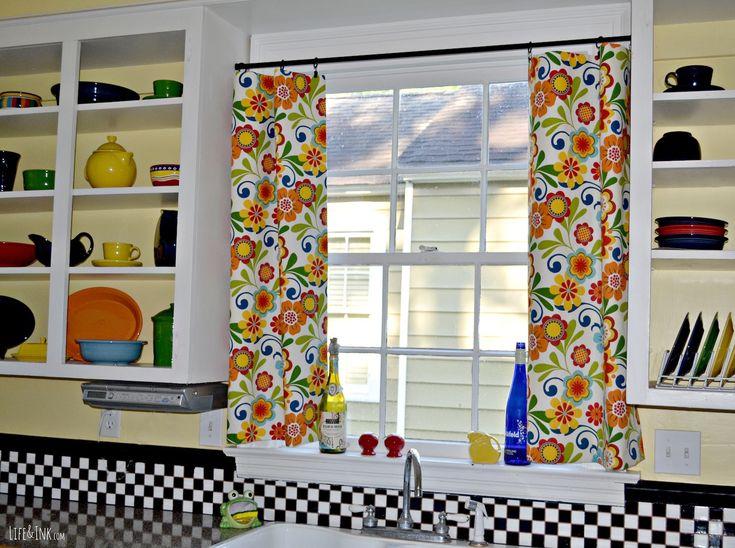 15 Elegant Kitchen Window Curtains For Window Decoration