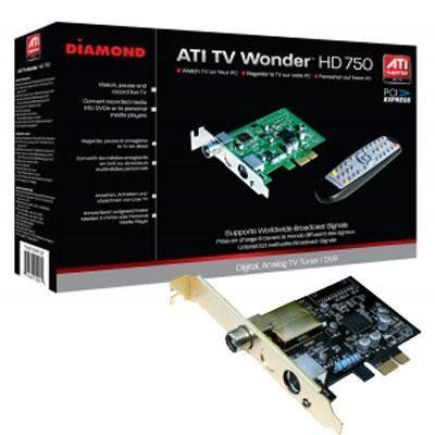 Diamond Multimedia TVW750PEC HD TV Tuner Card by Diamond Multimedia. $30.79. DIAMOND PCIE HD TV Tuner Card With HD 750 PC TV chip your Media Center PC is complete with live HDTV. Bring it all together for a true all-in-one rich  media experience and expand your digital entertainment capabilities at home. Easily capture and convert recorded TV  shows directly to your mobile device and take it with you for TV on-the-go. With The Diamond TVW750, entertainment  possibilities...