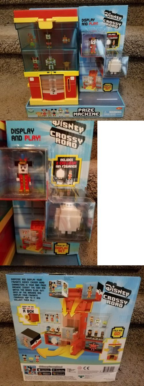Other Disney Toys 19224: Rare New Disney Crossy Road Prize Machine Mini Figurine 2 Exclusive Figures -> BUY IT NOW ONLY: $68.25 on eBay!