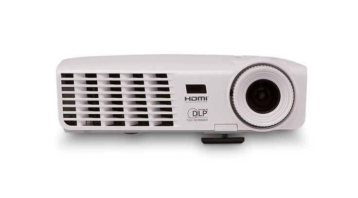 Vivitek D538W-3D 3200 Lumen WXGA HDMI 120 Hz 2D to 3D Portable DLP Projector. Native WXGA resolution (720p) and able to display up to UXGA (1600 x 1200). 2D to 3D conversion via HDMI. Connect to any standard or 3D Blu-Ray player for 3D viewing and watch 3D broadcasts via cable or satelite. High-efficiency lamps that last up to 4000 hours (in economy mode). DLP and BrilliantColor. technologies by Texas Instruments. Keypad lock feature to avoid accidental change to the setting. Enhanced…