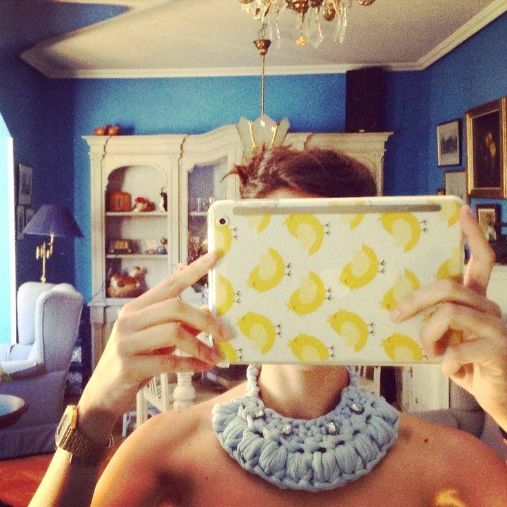 Nuevo collar de trapillo de lascositasdepalolu@gmail.com