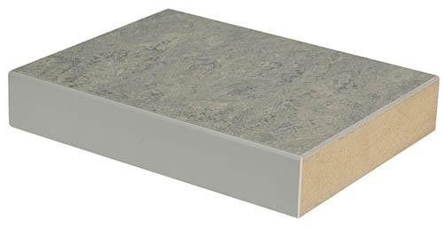 MDF-Platte mit 2,5 mm Linoleumbelag – BTH 1500x750x30mm