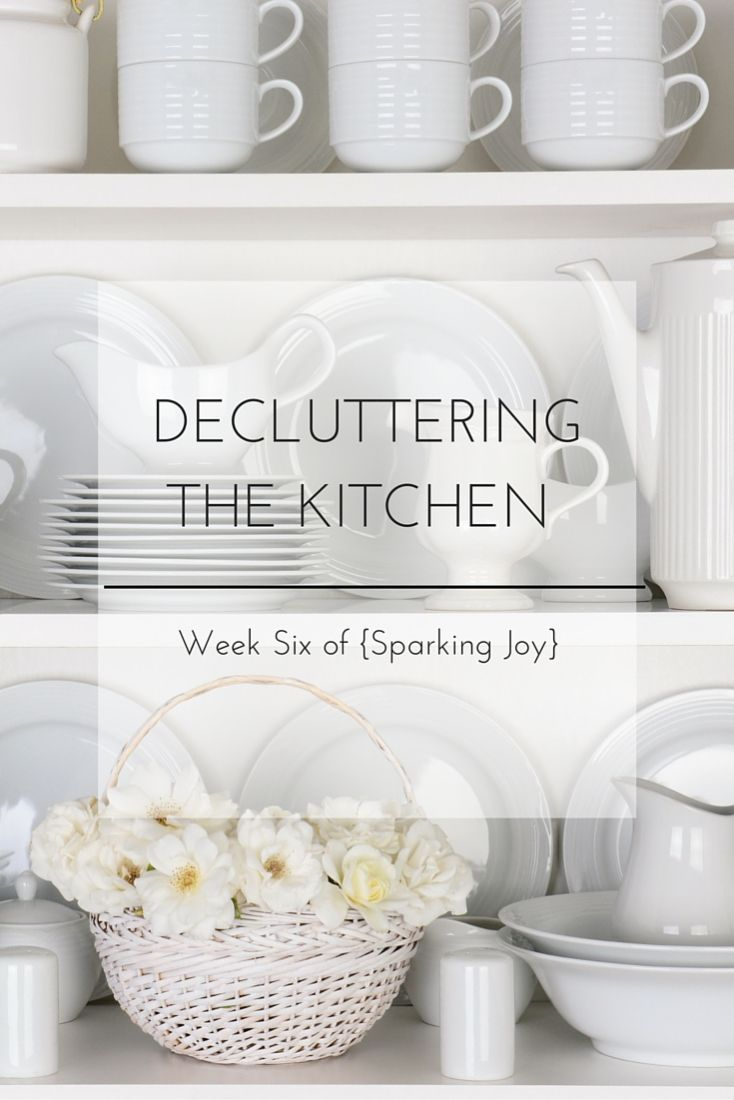See how I am decluttering and organizing the kitchen with the KonMari Method to tidy it all up once and for all!