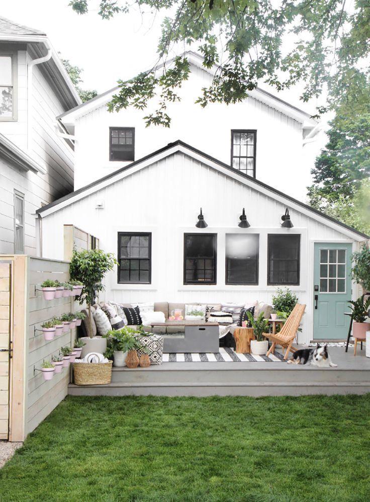 Outdoor Living Inspiration Alice And Lois Patio Backyard Makeover Backyard
