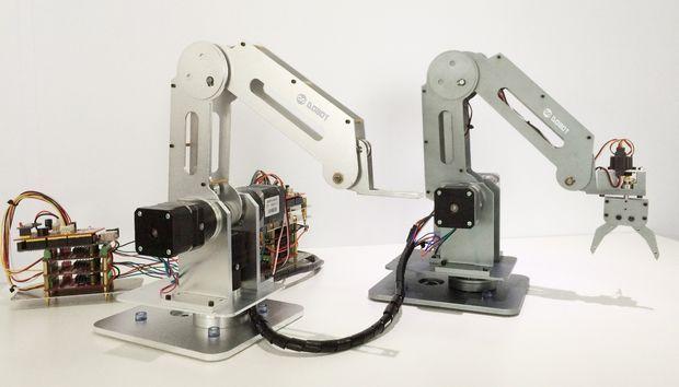 Build A Laser Cut And Soldering Dobot Robot Arm Robot