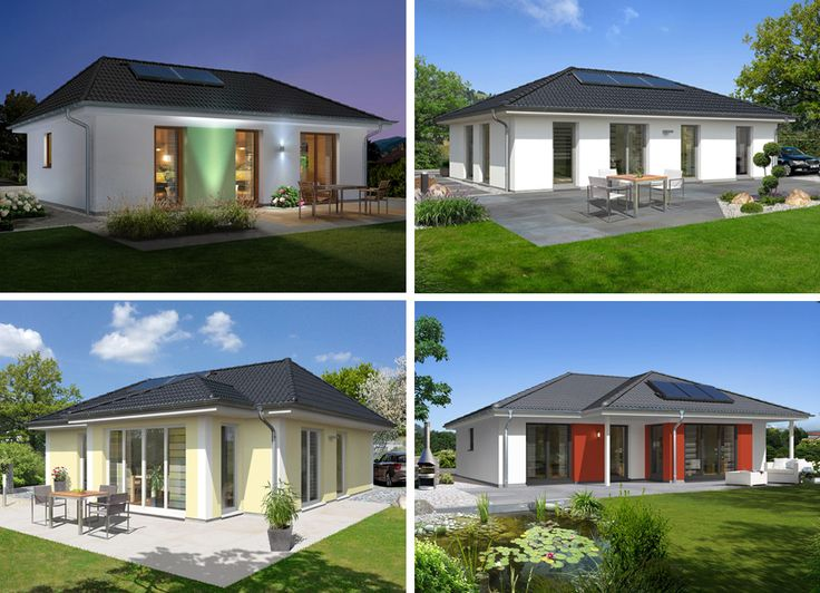 #Hausbau-Trend 2015 - #Bungalow #bauen  Alle Haustypen finden Sie hier: http://www.hausausstellung.de/bungalow-bauen.html