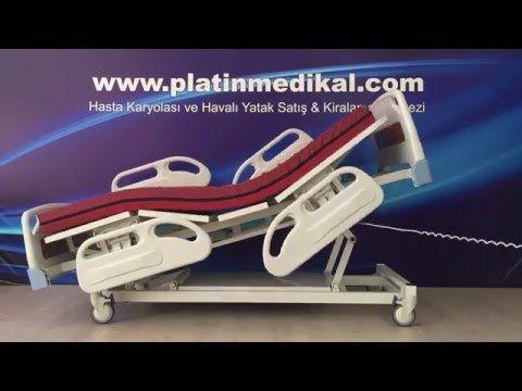 4 Motorlu Hasta Karyolası Videosu | Hasta Yatakları