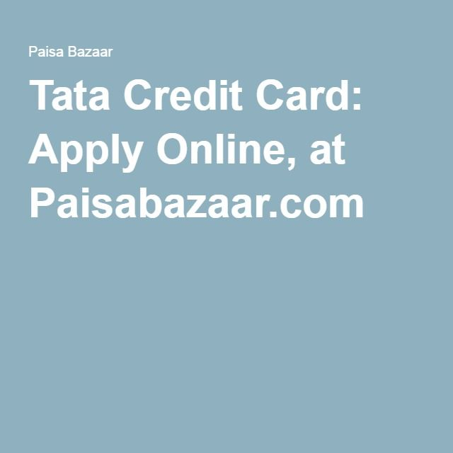 Apply for Tata Capital Bank Credit Cards online and get various benefits and rewards. There are several types of Tata Capital Bank credit cards on which you can earn huge cashback. Apply now!