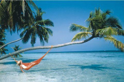 hammock-over-water