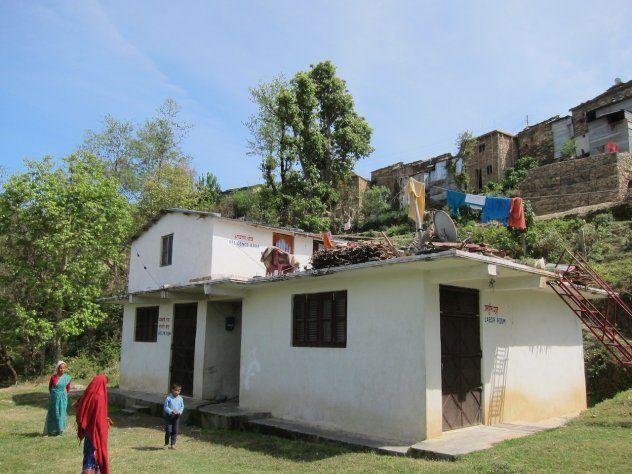 Klinika v Nepálu