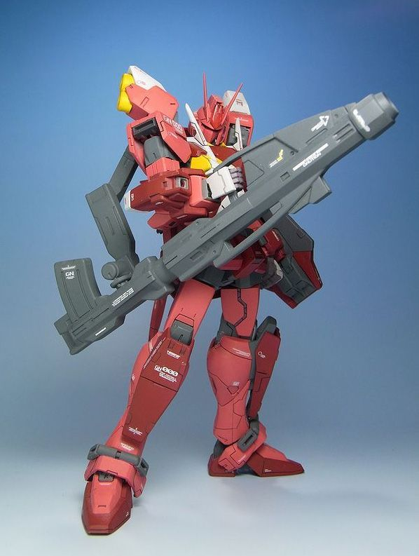 1/144 GN-000RW GN Red Warrior - Custom Build