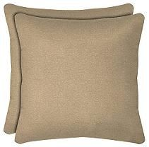 "16"" Square Pillow - Pebble - 2 pk."