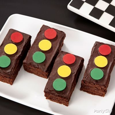 Put the pedal to the metal for Cars brownies