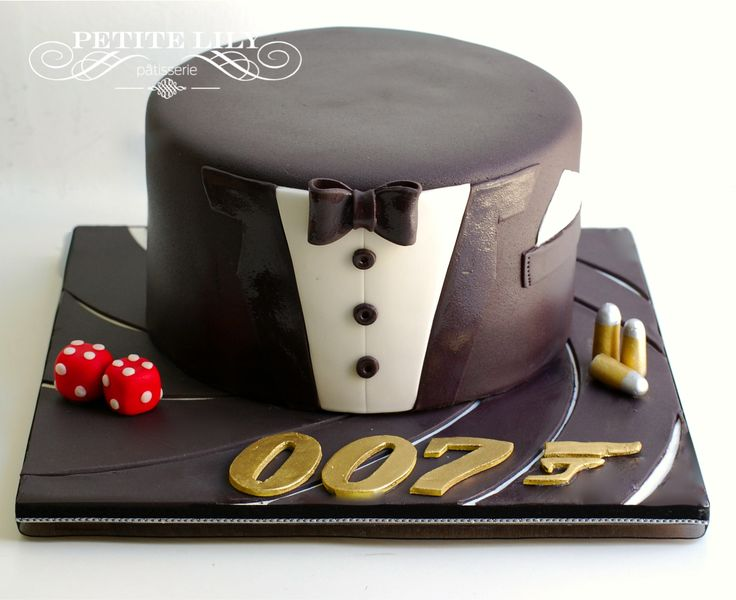 James Bond Cake / Bolo do 007