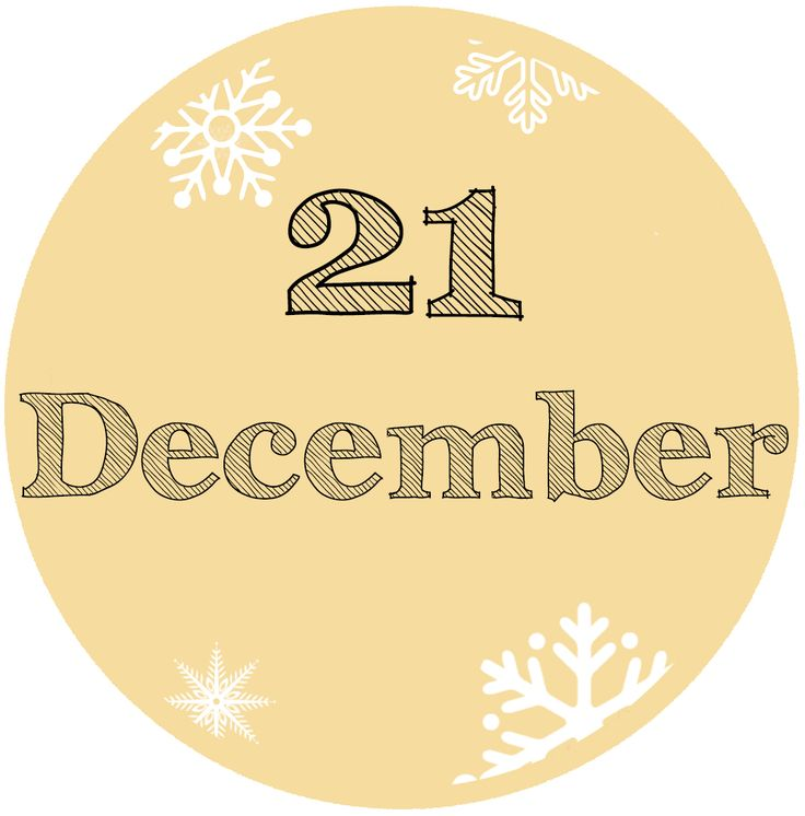 Our #Advent Calendar: 21 December - #Yule and #Xmas traditions