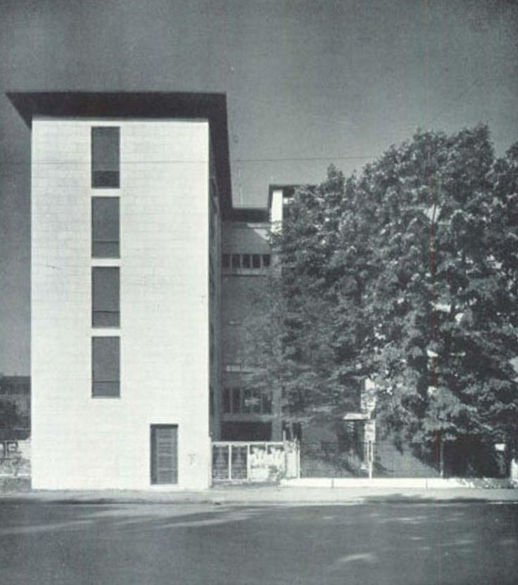 Ignazio gardella casa al parco google suche milano for Casa moderna milano