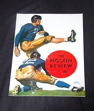 "1944 VINTAGE USC vs WASHINGTON ""THE PIGSKIN REVIEW""  COLLEGE FOOTBALL PROGRAM"