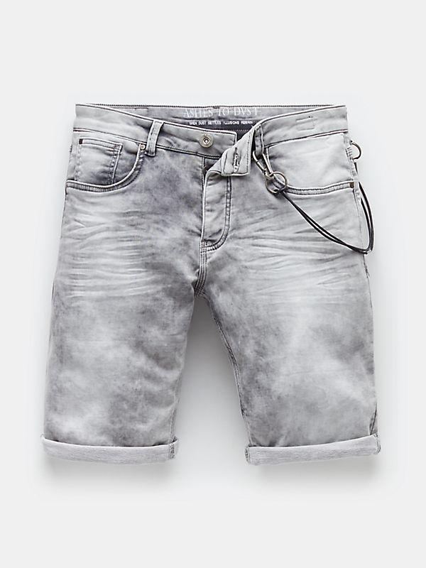 Korte broek grijs
