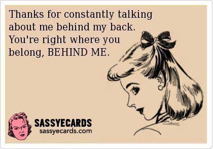Behind Me #Girls, #Sassy