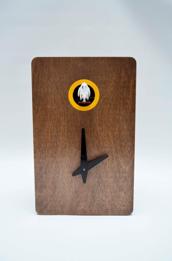 Quercus Nº2 Modern Cuckoo clock by pedromealha on Etsy
