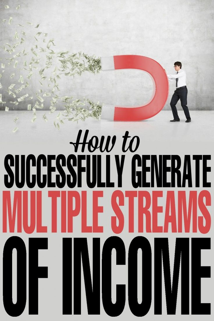 Financial tips for how to Successfully Generate Multiple Streams of Income with ease!
