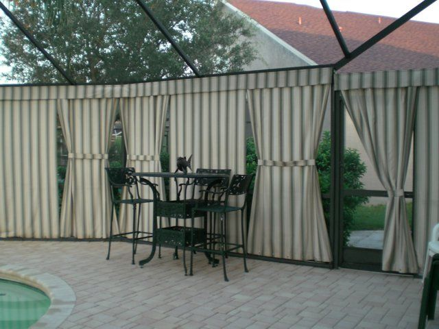 Pool Privacy Curtains 18 best my house ideas images on pinterest | backyard ideas