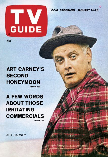 Art Carney's Second Honeymoon on TV Guide cover January 14, 1967