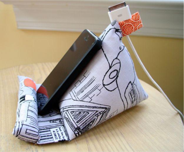 Te encantará tener en tu escritorio este accesorio para el celular #yolohice #Singer