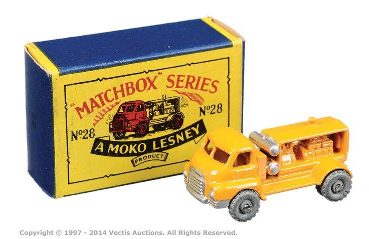 Matchbox Regular Wheels No.28A Bedford Compressor Truck | Vectis Toy Auctions