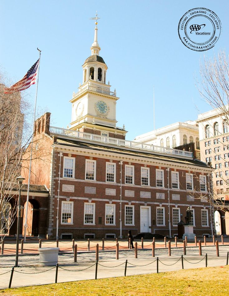 Independence Hall: Birthplace of both the Declaration of Independence and the Constitution. A visit to Philadelphia would not be complete without visiting Independence Hall.