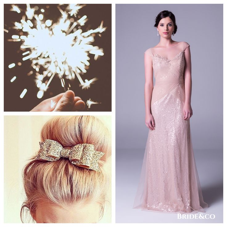 All of our favourite #pretty things in one #dress! Make an #unforgettable entrance in this champagne colour #eveninggown with draped #tulle and #lace applique (style 8017P). Click to Book a Free Fitting Online or view more #dresses on our website.  #champagnedress #instadaily #love #brideandco #southafrica #beige #longdress