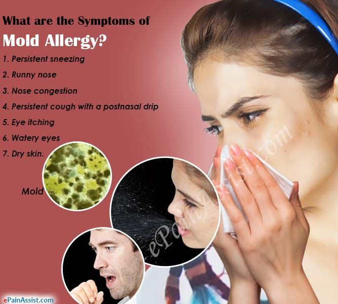 What are the Symptoms of Mold Allergy?